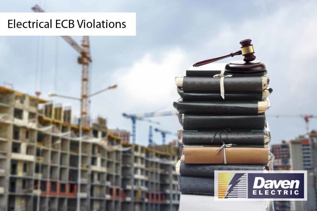 Electrical ECB Violations