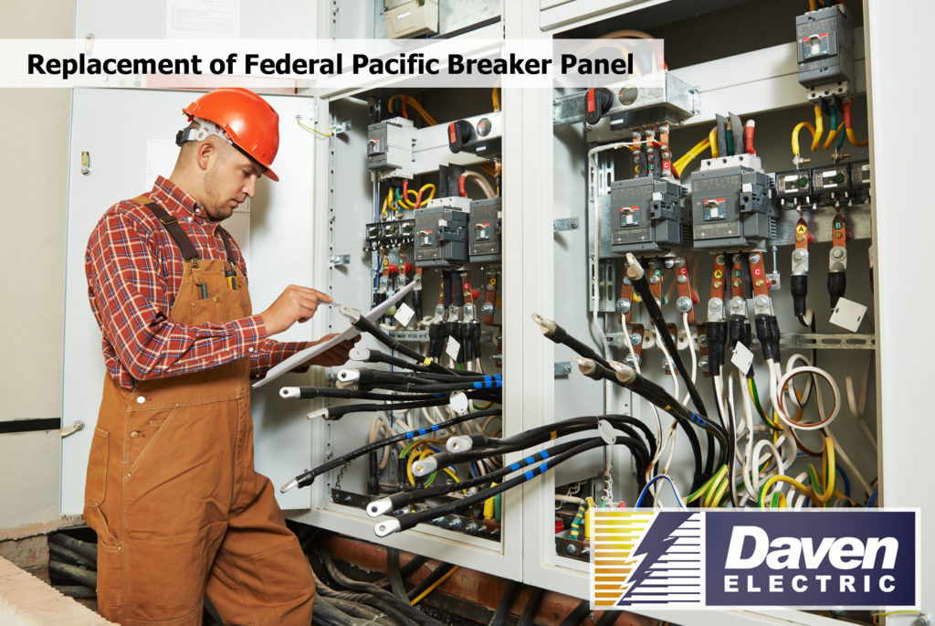 Replacement of Federal Pacific Breaker Panel