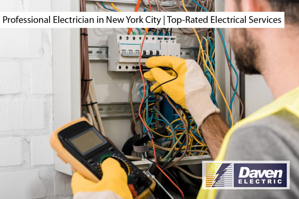 Professional Electrician in New York City | Top-Rated Electrical Services