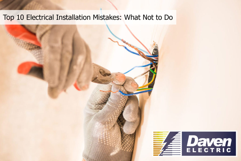 Electrical Installation Mistakes